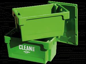Clean Box med lock och badkorg